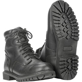 Highway 21 RPM Lace-Up Motorcycle Boots