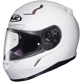 HJC CL-17 Full-Face Motorcycle Helmet Medium White
