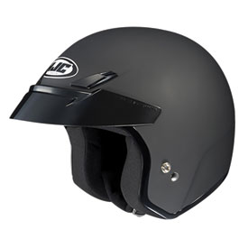HJC CS-5N Open-Face Motorcycle Helmet Medium Flat Black