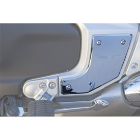 Honda Chrome Swingarm Pivot Covers