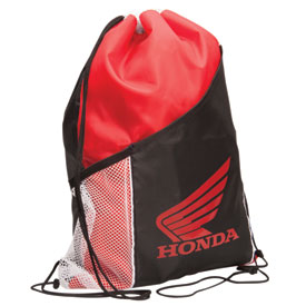 Honda Drawstring Backpack with Bottle Holder