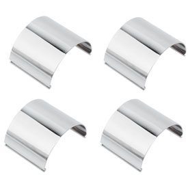 Honda Chrome Fork Tube Cover Set