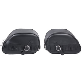 Honda Leather Saddlebags
