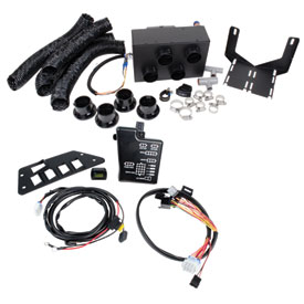 Honda Heater Kit With Switch Plate/Volt Meter/Wire Harness