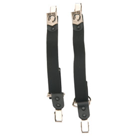 "Hot Leathers Metal Medallion 8"" Pant Bungee"
