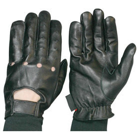 Hot Leathers Driving Motorcycle Gloves
