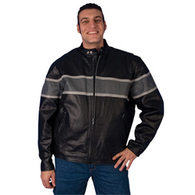 Hot Leathers 527 Leather Motorcycle Jacket
