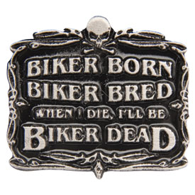 Hot Leathers Biker Born® Pin