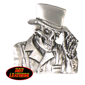 Hot Leathers Top Hat Pin