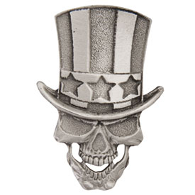 Hot Leathers Uncle Sam Skull Pin