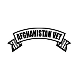Hot Leathers Afghanistan Vet Pin