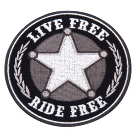 Hot Leathers Embroidered Patch -  Sheriff