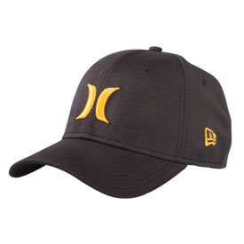 Hurley One & Only Black New Era Flex Fit Hat