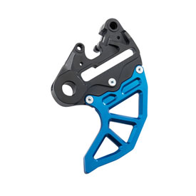 Husqvarna CNC Rear Brake Caliper Support with Disc Guard