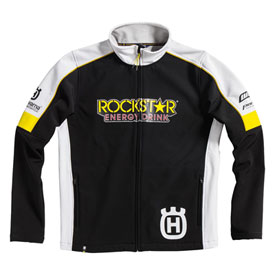 Husqvarna Rockstar Replica Team Zip-Up Jacket Medium Black/White