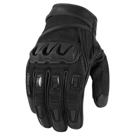 Icon Compound Mesh Short Motorcycle Gloves