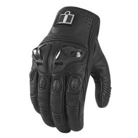 Icon Justice Touch Screen Motorcycle Gloves
