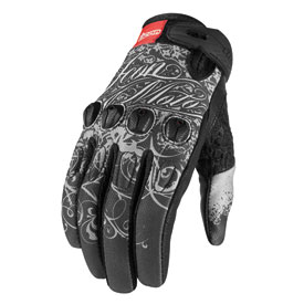 Icon Sub Street Angel Ladies Motorcycle Gloves