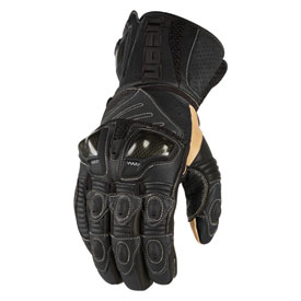 Icon Overlord Long Motorcycle Gloves