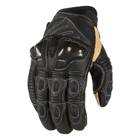 Icon Overlord Short Motorcycle Gloves