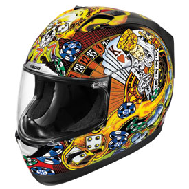 Icon Alliance Lucky Lid Motorcycle Helmet