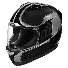Icon Alliance Reflective Motorcycle Helmet