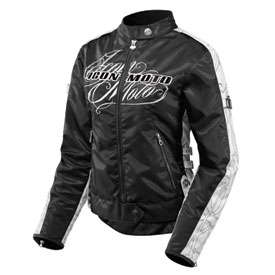 Icon Hella Street Angel Ladies Textile Motorcycle Jacket