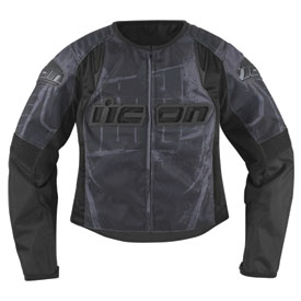 Icon Overlord Type 1 Ladies Textile Motorcycle Jacket