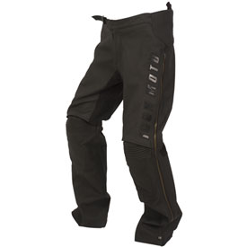 Icon Automag Leather Motorcycle Overpants