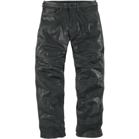 Icon One Thousand Roughshod Leather Motorcycle Pants