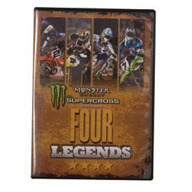 Impact Videos Supercross Four Legends DVD