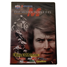 "Impact Videos The Motocross Files ""Roger DeCoster"" DVD"