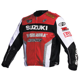 Joe Rocket Suzuki Replica Textile Mesh Motorcycle Jacket