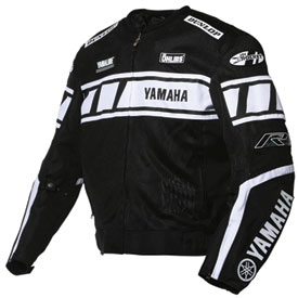 joe rocket yamaha champion textile mesh motorcycle jacket