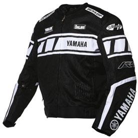 joe rocket yamaha champion textile mesh motorcycle jacket