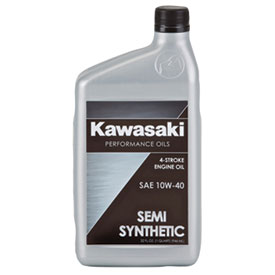 kawasaki 4-stroke semi-synthetic engine oil | atv | rocky mountain
