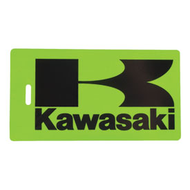 Kawasaki Luggage Tag