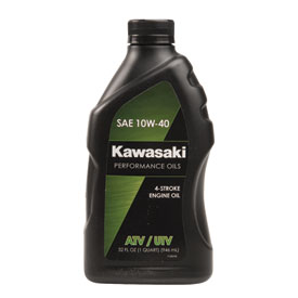 Kawasaki 4-Stroke ATV/Utility Engine Oil 10W-40 32 oz.