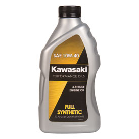 Kawasaki 4-Stroke Synthetic Engine Oil 10W-40 32 oz.