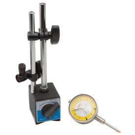 K & L Dial Gauge with Magnetic Base