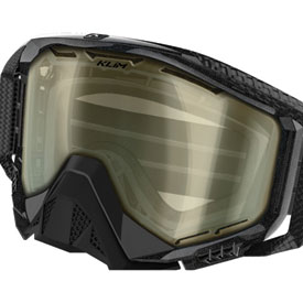 Klim Radius Blackout/Mountain Goggle Replacement Dbl Lens