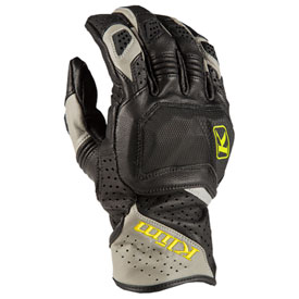 Klim Badlands Aero Pro Short Gloves Small Grey