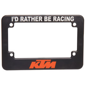 KTM Motorcycle License Plate Frame