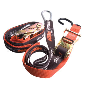 KTM Ratchet Soft Loop Tie Downs with Clips