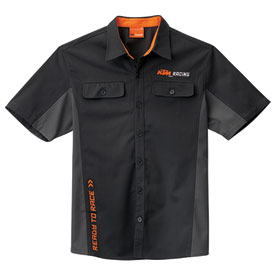 Ktm Ready To Race Mechanic Button Up Shirt Casual