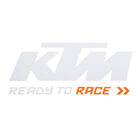 ktm ready to race die cut decal atv rocky mountain atv mc