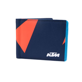KTM Replica Bi-Fold Wallet Navy/Orange