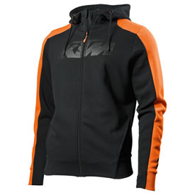 KTM Pure Zip-Up Hooded Sweatshirt 2019