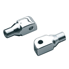 Kuryakyn Rear Motorcycle Foot Peg Adapters