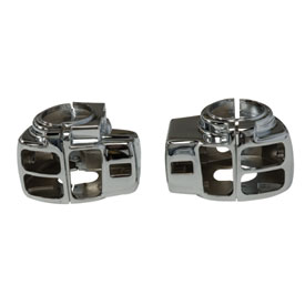 Kuryakyn Switch Housings for Harley-Davidson® Models with Factory Radio Controls